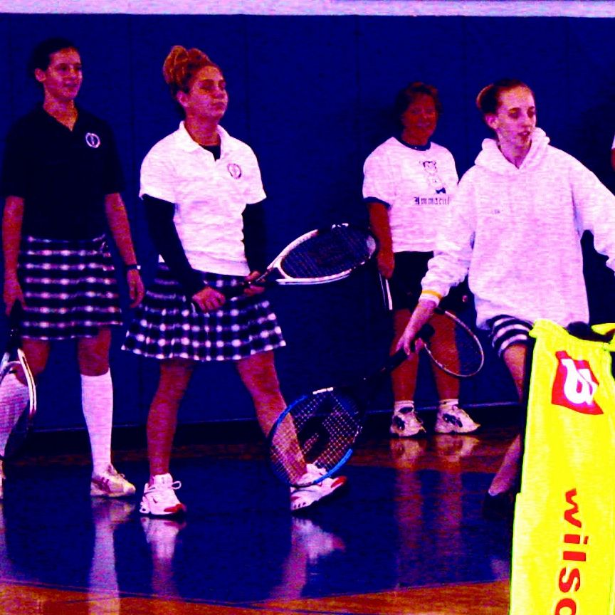 Immaculata Academy Girls Play Tennis