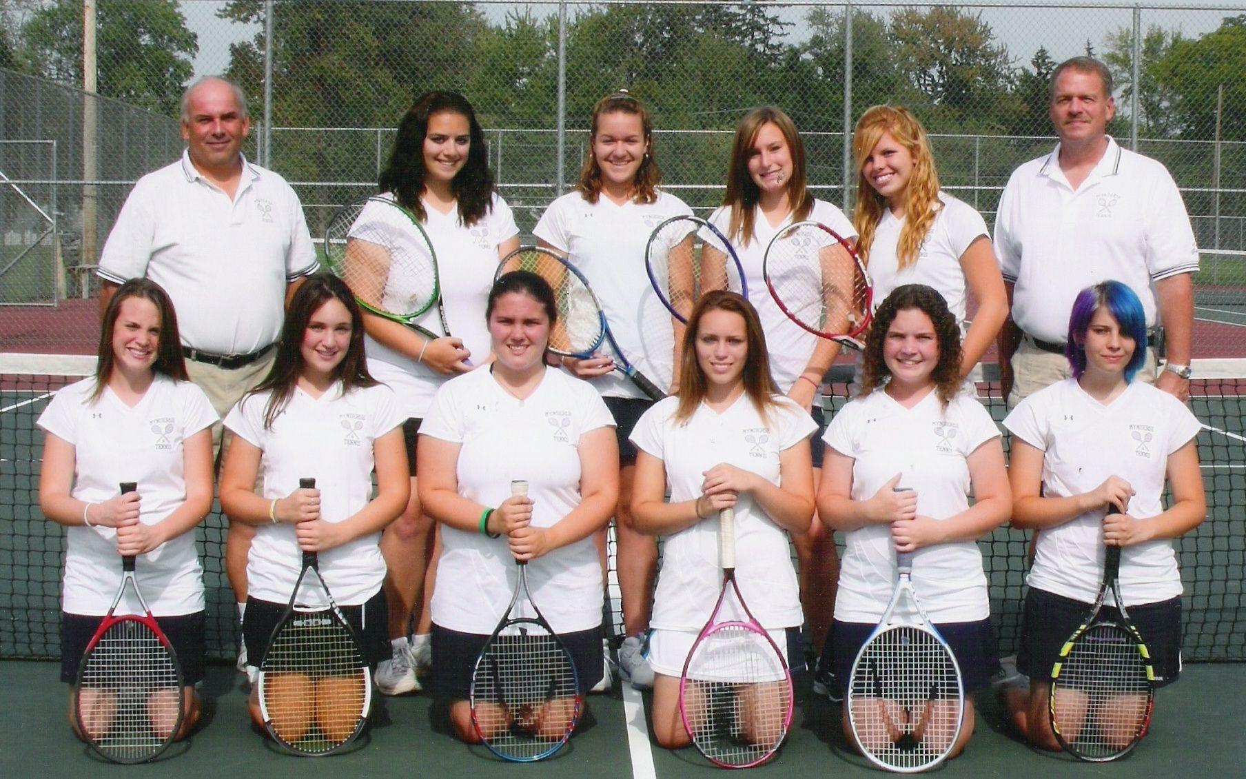 Mynderse Girl's Varsity Team