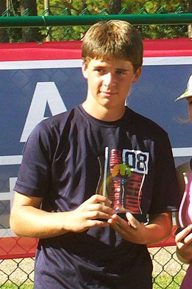 Ryan Cromwell Receives Sportsmanship Award