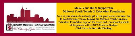 Midwest Youth Tennis _ Education Foundation online auction