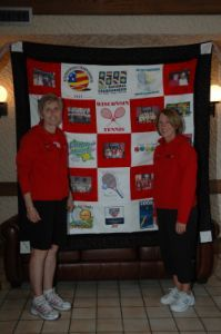 Big Team Hug Quilt Made from the Heart
