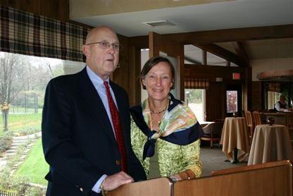 John Jansky with Elizabeth Barnhill