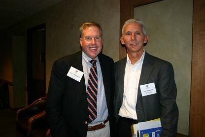 Steve Butzlaff, Midwest Section Vice President, with WTA Past President, Jay Massart