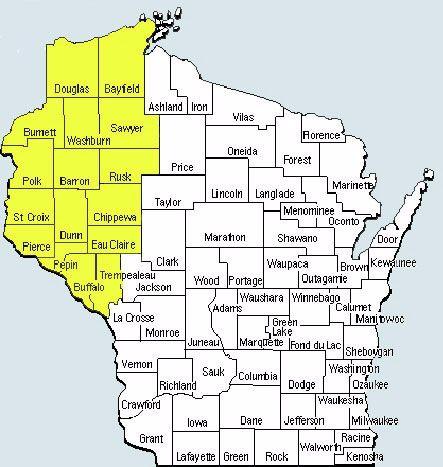 WTA District Map