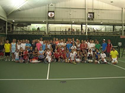 12's and 14's meet and greet the opening of the 2009 USTA Jr. Team Tennis Wisconsin District Championships