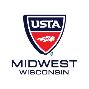 USTA Midwest/Wisconsin logo