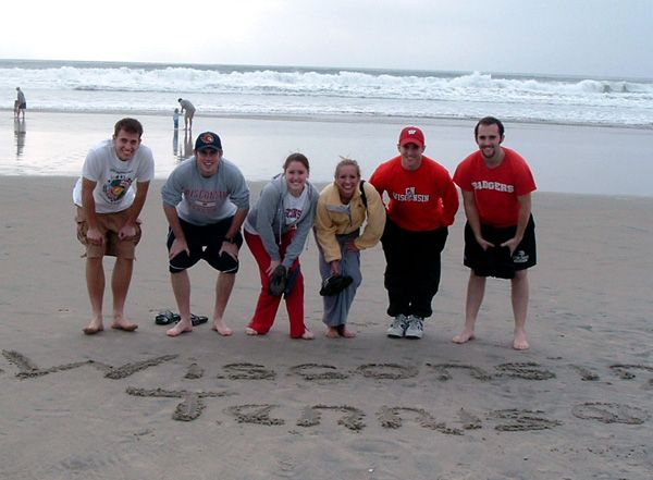UW Madison Campus Team on The Beach