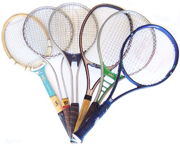 Various Old Racquets