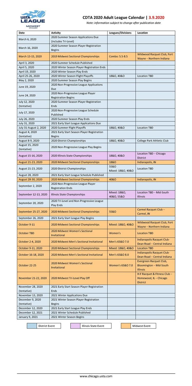 2020_CDTA_League_Calendar_-_March_One_Page