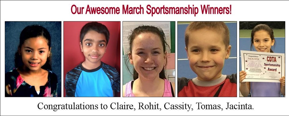 March_Sportsmanship_winners