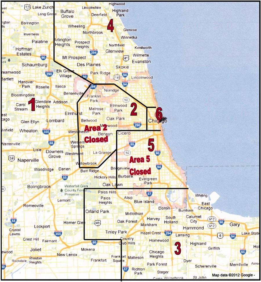Flex Leagues USTA Chicago - Chicago map northwest suburbs