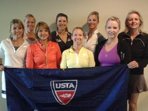 Adult 18   Over 4.0W, Heritage Tennis Club, Arlington Heights
