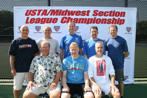 Congratulations to the USTAMidwest Sectional Champions 4.0 Senior Men Score Tennis Fitness Countrysi