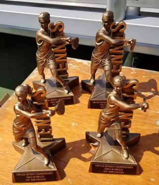 Z Girls trophys