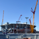 Arthur Ashe Stadium Roof Construction