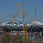 Arthur Ashe Stadium Roof Construction - May Update