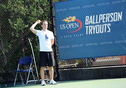 2013 US Open Ballperson Tryouts