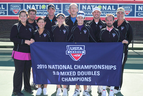 2010 USTA League 9.0 Adult National Champions from Mandeville/Covington, La.