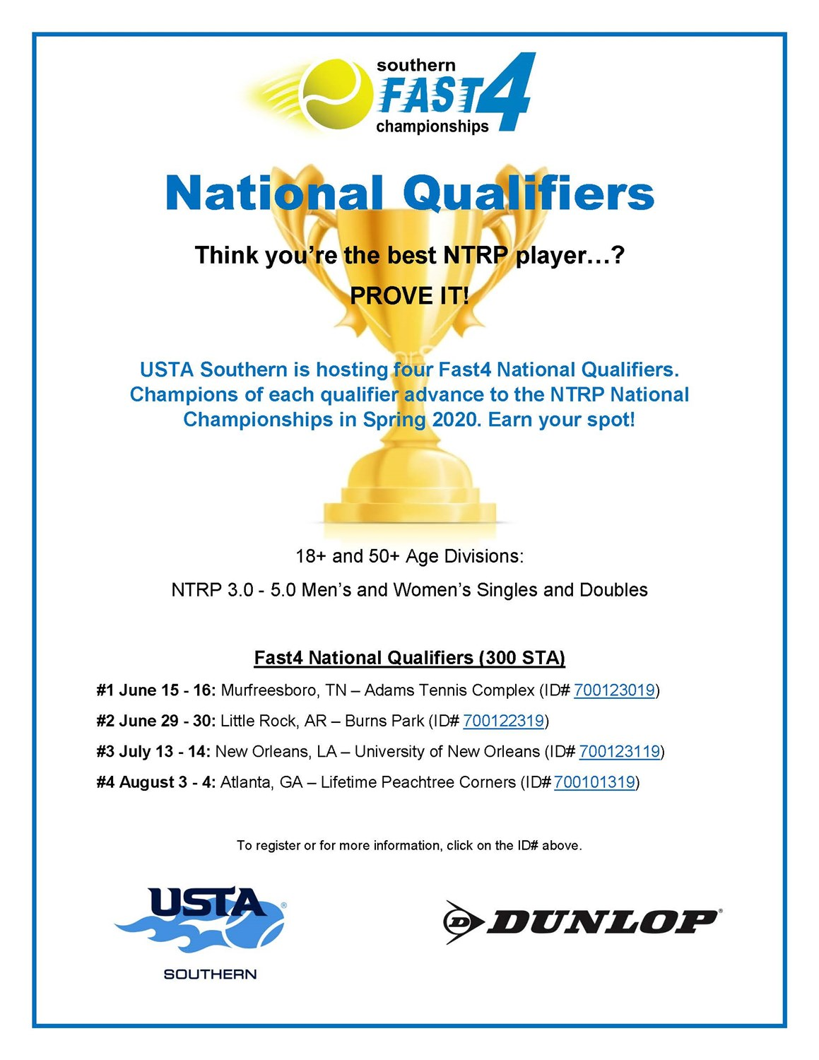 USTA_Southern_Fast4_Championship_Flyer_2019