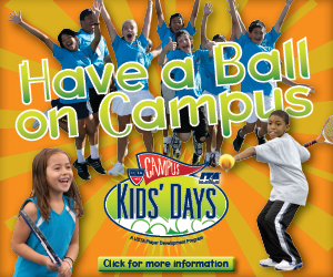 USTA Campus Kids' Day