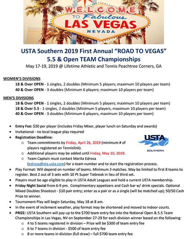 USTA_Southern_Road_to_Vegas_Team_Championship_Flyer_2019