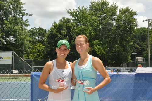 Allison Miller and Laura Patterson