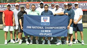 USTA Southern's team: Left to right: front row: Casey Cubbedge, Brad Dupont, Mario Guadamud, John Willis, Dean Bartels. Back row: Darren Boone, Jeff Martin, Donald Dawson, Charles Ayles, David Jumper, Karsten Thompson, Casey Sessums.
