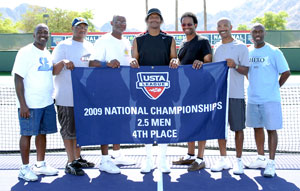 2009 USTA Southern's 2.5 Men's team from Lithonia, Ga.