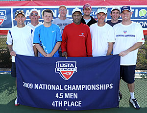 2009 4.5 Men fourth place Nationals