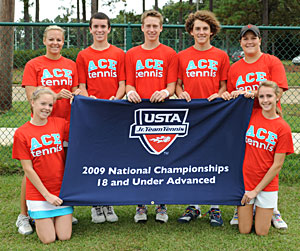 2009 Jr. Team Tennis 18a fourth Nationals