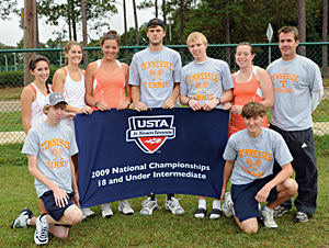 2009 Jr. Team Tennis 18i second Nationals
