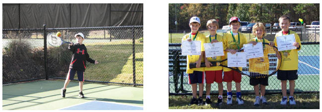 8U Jr. Team Tennis Harrison Tennis Center