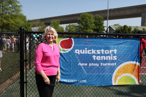 Lucy Garvin QuickStart Courts Family Circle Cup