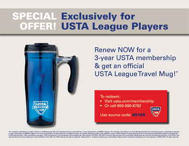 USTA membership promotion