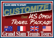 Grand Slam Tennis Tours US Open Travel Package