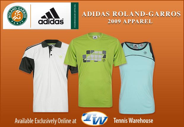 2009 adidas ROLAND GARROS APPAREL