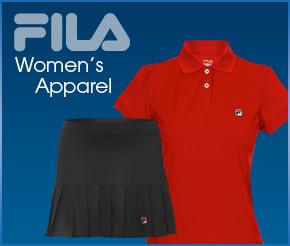 Fila women's apparel