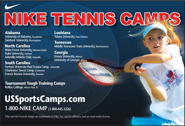 Nike Tennis Camps
