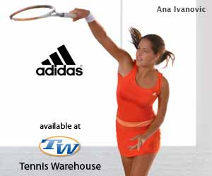 Tennis Warehouse adidas Summer Apparel, Ana Ivanovic