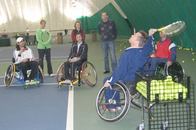 USTA Southern Wheelchair Instructional Clinic