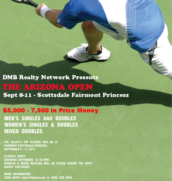 2011 Arizona Open Poster2