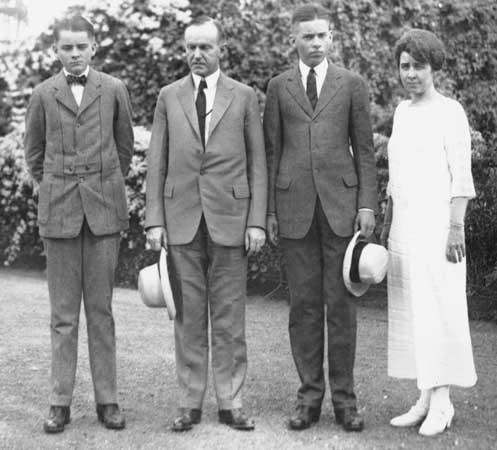 Calvin_Coolidge_family