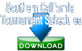Southern California Tennis Tournament Schedules