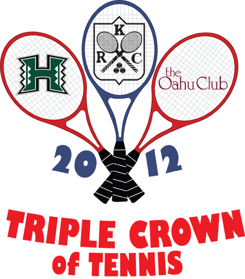 2012 TRIPLE CROWN OF TENNIS LOGO