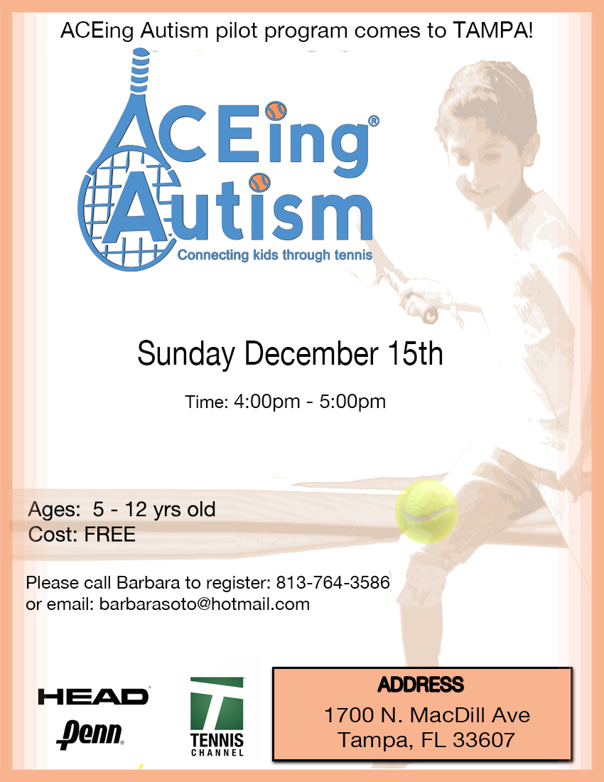 Florida Tennis Briefs2 Aceing Autism Ptr Workshop Community