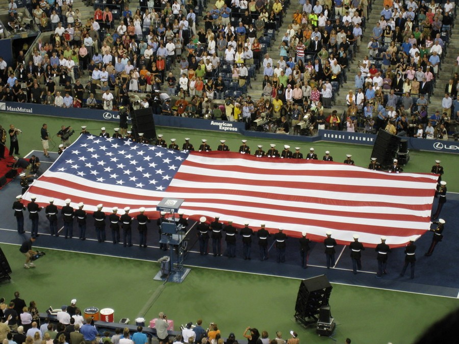 American_flag_at_2008_US_Open