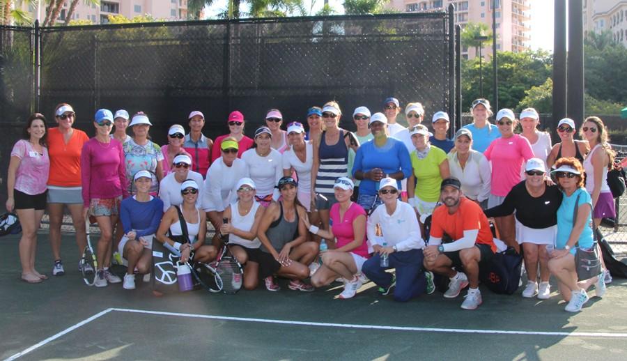 CSCGM_Morning_Round_Womens_Doubles_Tennis_Tournament_participants