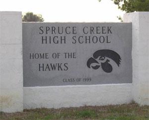 Spruce-Creek-HS-sign