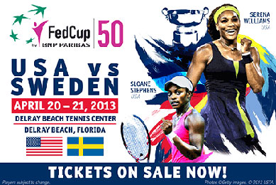 US-Fed-Cup-2013-mediawall