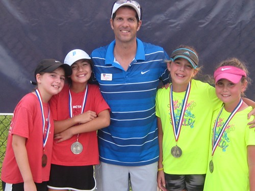 Girls 10s 1st and 4th Place